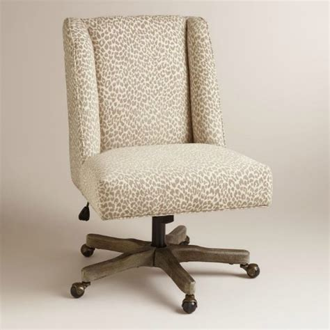 animal print desk chair stylish and comfortable office chairs you must see