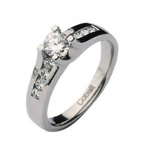 cobalt solitaire engagement his hers 3 5mm wedding rings cobalt sets at elma uk jewellery - Cobalt Wedding Rings
