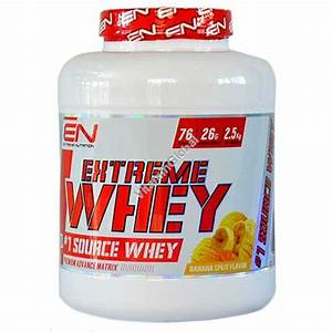 Kosher Extreme Whey Protein Banana Split Flavor 2 27 Kg