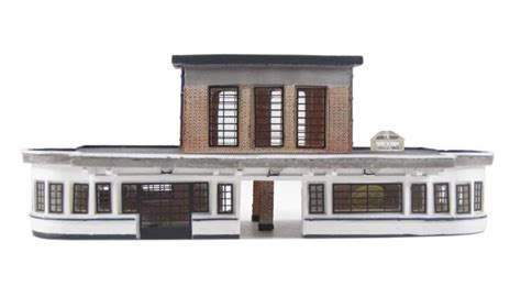 deco stations hattons co uk graham farish 42 066 deco station building 132 x 67 x 51mm