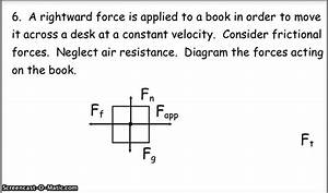 Answers To Free Body Diagram Problems