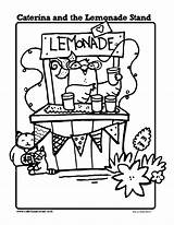 Lemonade Coloring Stand Caterina Pages Printables Sheets Drawing Summer Sheet Printable Stands Activities Template Cupcake Classroom Getdrawings Pitcher Drawings Books sketch template