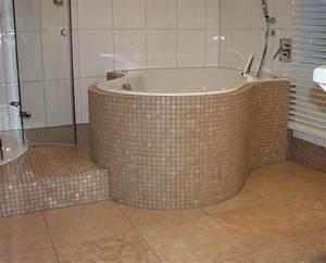 Bad Dusche Kombination : helle fliesengestaltung bad dusche ~ Indierocktalk.com Haus und Dekorationen
