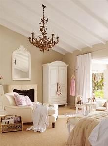 Chambre Shabby Chic : chambre coucher de style shabby chic en 55 id es ~ Preciouscoupons.com Idées de Décoration