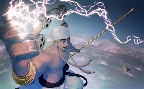 anime  piece anime boys lightning enel gan fall