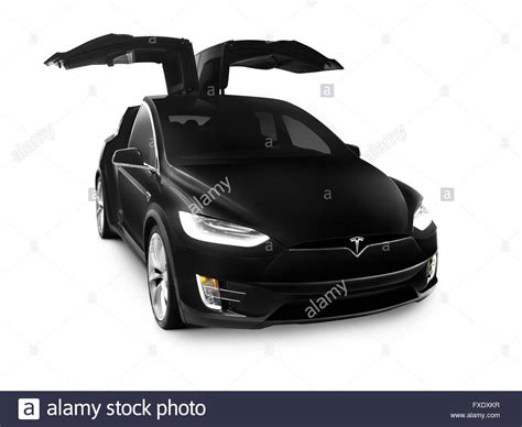 Electric Car Models 2017 by Black 2017 Tesla Model X Luxury Suv Electric Car With Open