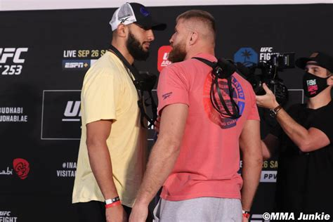 dominick-reyes-jan-blachowicz-ufc-253-official-weigh-ins ...