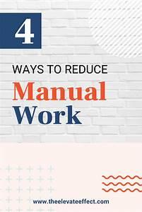 4 Ways To Reduce Manual Work2