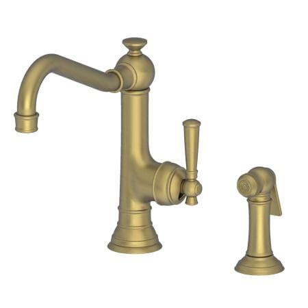 Newport Brass 2470 5313/06 Antique Brass Jacobean Single