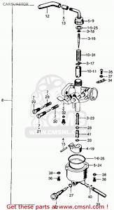 Honda Z50a Mini Trail K4 Usa Carburetor