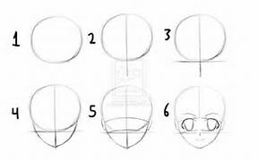 Pinterest     The world   s catalog of ideas  Easy Anime Drawings For Beginners Step By Step