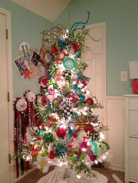 whimsical white christmas tree festival collections