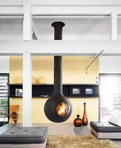Cheminée Bois Design : moderne kamin fen focus ~ Premium-room.com Idées de Décoration