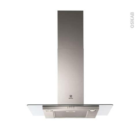 hotte de cuisine electrolux hotte de cuisine aspirante verre 90cm electrolux efc90466ox oskab