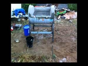 Fabriquer Un Barbecue Avec Un Bidon : fabriquer un barbecue pour pas cher et peu de materiel vraiment etonnant youtube ~ Dallasstarsshop.com Idées de Décoration