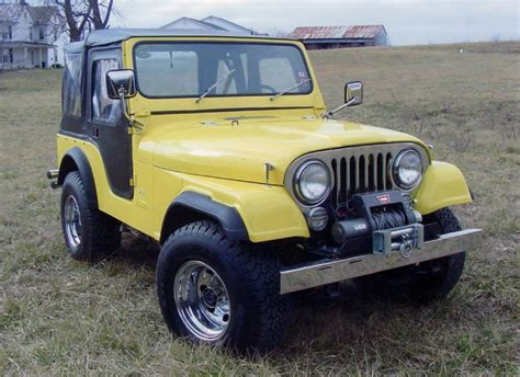 jeep convertible black 1979 jeep cj 5 custom convertible 64325