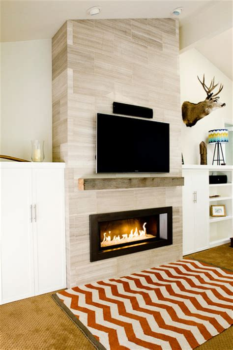 gas fireplace designs dramatic fireplace makeover contemporary family room