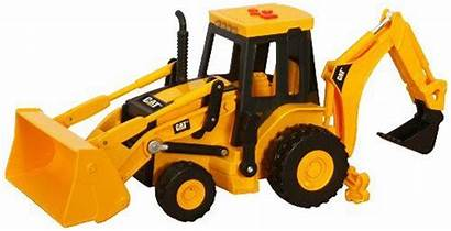 Cat Toy Backhoe State Job Site Machine