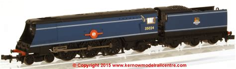 Regalia Farish 372 310 wsl graham farish merchant navy class steam loco 35024