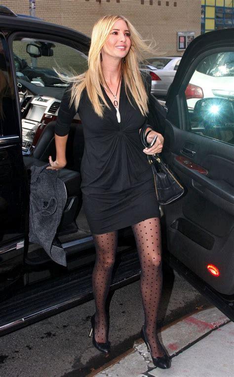 trump ivanka wendy tights williams jenni farley pajamas jennifer lookbook woww promotes looks