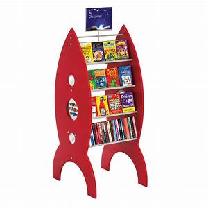 Display Bookcase For Children 4 SECTIONED MOBILE LIBRARY