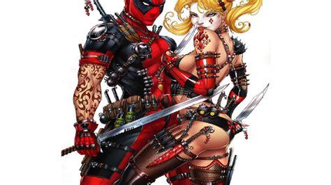 Deadpool Marvel Girl Costume Meningrey