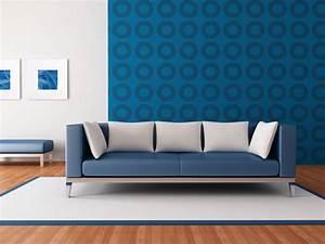 Tapete Mit Kreisen : wandgestaltung wohnzimmer ~ Orissabook.com Haus und Dekorationen