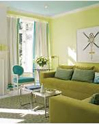 Photos Of Living Rooms With Green Walls by Green Accent Wall The Doodle House