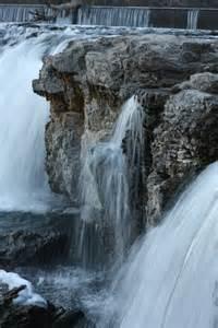 Grand Falls Joplin Missouri Waterfall
