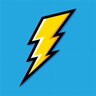 Bolt Lightning Icon Vector Electric Clip Salesforce