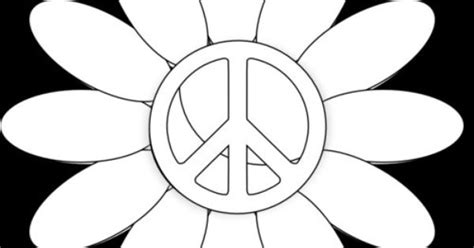 Coloring Pages Of Peace Only