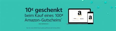 Amazonde 10 EUR Aktionsgutschein, beim Kauf eines 100