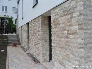 Steine Für Wandverkleidung : travertin marmor klinker naturstein verblender mauer wand wohnen hauswand ebay ~ Bigdaddyawards.com Haus und Dekorationen