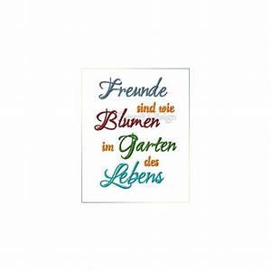 Freunde Im All : freunde sind wie blumen im garden des lebens saying ~ A.2002-acura-tl-radio.info Haus und Dekorationen
