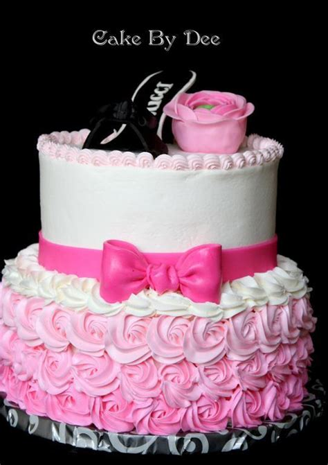 cake decoration ideas birthday you to see pink hombre birthday cake by cakesbydee
