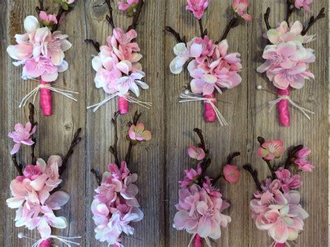 cherry blossom corsages quinceanera ideas boda