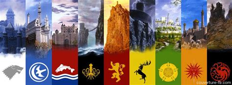 maisons of thrones