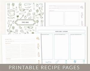 diy custom recipe binder cookbook printable pages 40 With free online cookbook template