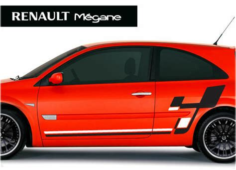 renault megane r26 style stickers graphics decals ebay