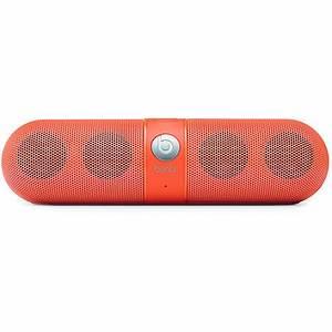 Beats By Dre Beats Pill Neon Orange Wireless Speakers at