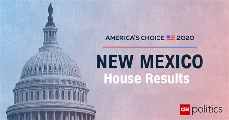 mexico house election results  maps