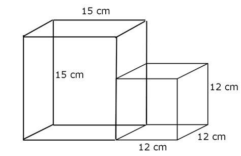 Volume kedua bangun ruang ini dapat dicari dengan cara menjumlahkan volume dari setiap jenis bangun tiga dimensi tersebut. Gambar Gabungan Bangun Ruang - Eva