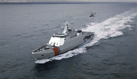 Coastal Patrol Vessel For Energy, Watermaking & Hospital Facilities