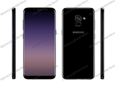 samsung galaxy a5 2018 a7 2018 render reveals screen design bixby button playfuldroid