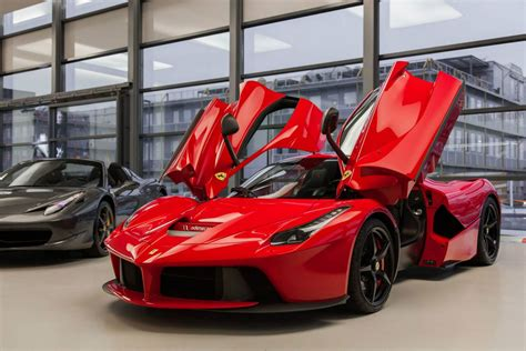 ferrari laferrari red ferrari laferrari in geneva switzerland gtspirit