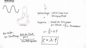 Frequenz Berechnen Physik : warum ist die lichtgeschwindigkeit das produkt aus frequenz und wellenl nge ~ Themetempest.com Abrechnung
