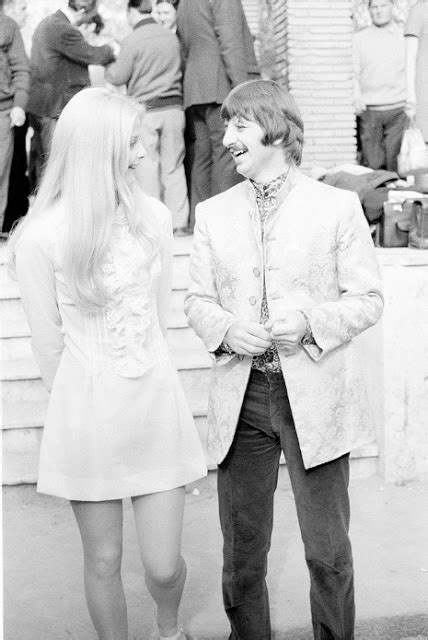 vintage everyday ewa auling and ringo starr in 1968