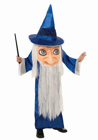 Wizard Costume Face Child Halloween Wizards Costumes