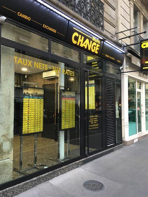 multi change bureau de change 7 rue marbeuf 75008 adresse horaire
