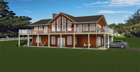 HOUSE PLAN 2012639 BUNGALOW WITH FRONT WALKOUT BASEMENT